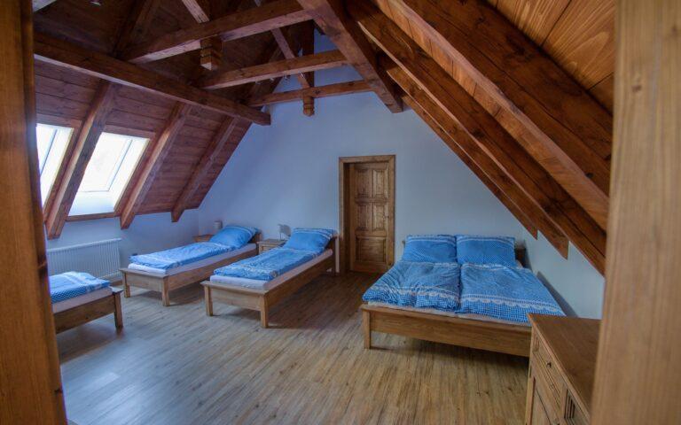 Pokoj s postelema